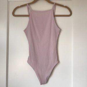 Pink Aritzia Bodysuit